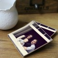sets of square personalized ceramics cup coasters